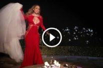 Mariah Carey brucia l'abito da sposa da 250mila dollari: doveva indossarlo alle sue nozze