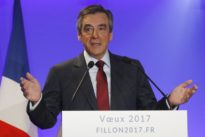 French presidential candidate Fillon says will outline EU plans to Merkel