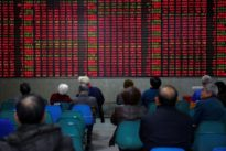 Asian shares scale 1-1/2-year peak on China trade, Trump`s tax cut talk