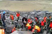 Glissement de terrain en Chine: 141 disparus, les secours arrivent