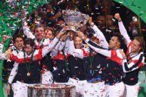 Coupe Davis: salades de raquettes pour saladier d'argent