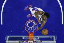 NBA: JoelEmbiid, unpivot monté engraine