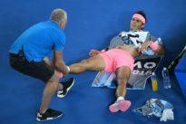 Vague de blessures sur les courts: la bataille des bobos