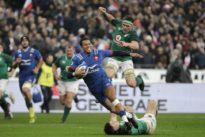 Face à l'Irlande, un XV de France encore trop vert