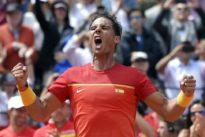 Les retours de sévices de Nadal et Djokovic