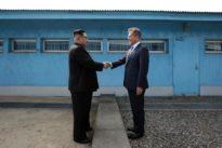 Corées : «Je ne peux pas m'empêcher d'être ému dans ce lieu historique»