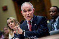 Après plusieurs scandales, le ministre de l'Environnement américain démissionne