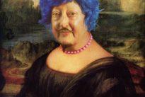 Martha Wilson, des personnages  qui font moustache d'huile