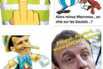 «Manu», «Micron», «Macaron» : sur le Web, l'antimacronisme atteint les sommets de l'anti-hollandisme