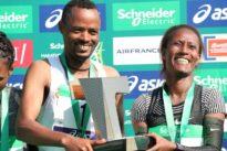 Victoires éthiopiennes au marathon de Paris, record de France battu pour Calvin