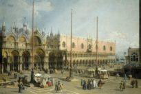 Canaletto en tête de gondole à Venise