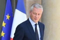 Au G7 Finances, Le Maire veut poursuivre son «rapport de forces» contre les Gafa