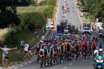 Tour de France: à Albi, Pinot victime d'un vilain coup de vent