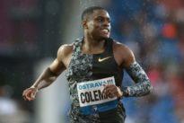 Athlétisme: Coleman, sans rival mais pas sans tache