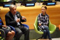 ONU: la Terre sur les épaules