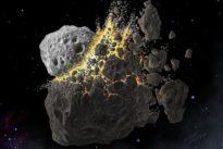 Une collision d'astéroïdes a refroidi la Terre