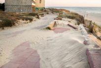Soulac-sur-Mer aux avant-postes del'érosion côtière