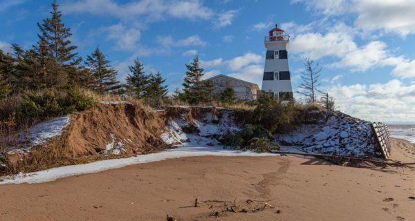 Au Canada, l'Ile-du-Prince-Edouard assiégée par l'érosion