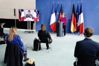 Le couple franco-allemand sort de son confinement